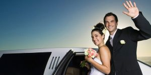 Fort Worth Wedding Getaway Limo Rentals, Sedan, Party Bus, Shuttle, Charter, Bride, Groom, Classic, Vintage, Antique, White Rolls Royce Bentley, One Way, Limousine